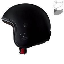 Motorcycle Helmet Scooter Jet Caberg Freeride Matte Black Size S Fiber Jacket 17