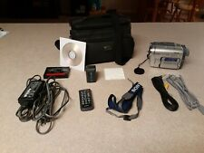 New ListingSony Handycam Dcr-Trv460 Digital-8 Camcorder tested working with 2 tapes