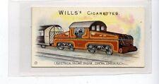 (Jd2971) WILLS,LOCOMOTIVES & ROLLING STOCK,ELECTRICAL RAILWAY ENGINE,1902,#17
