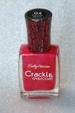New Sally Hansen 04 Fuchsia Shock Crackle Overcoat Nail Polish