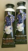 *New* BLUEBERRY  Hand Cream 2-Pack  Bath & Body Works - Ships Free!!!