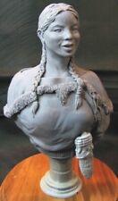 Sacagawea 1/9th scale resin bust