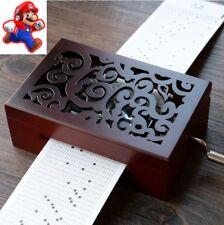 DIY 30 note Hand-cranked Music Box ♫ Super Mario World 2 - Story Music Box  ♫
