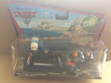 """DISNEY CARS DIECAST - """"Pit Launchers Max Schnell"""" - Stop Iniciar & Race!"""