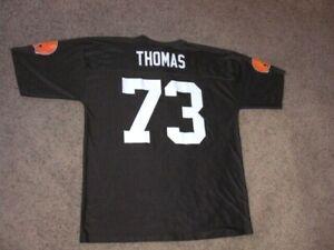 Cleveland Browns JOE THOMAS Football Jersey men's XL