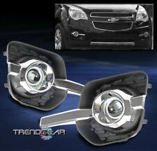 rear car and truck fog and exterior lights without warranty for sale  2010 2015 chevy equinox bumper driving fog lights lamps chrome w wiring harness