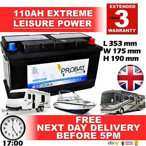 Loisirs Batterie 12V 110AH Auto Elite LM110, Tarifs , Wohnmobil, Coffre
