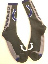 Indianapolis Colts   Key Jump Crew Socks Mens Large LG size 10-13 Fans show off