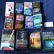 Michael Connelly Harry Bosch Books  #1 thru # 12 Hardback Paperback Lot of 12