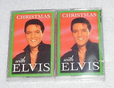 Christmas Elvis 1997 2 Cassette Tapes BMG Holiday Songs Classics Music Audio