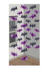 Bat Negro y Púrpura Colgante Decoración decoración de sala de fiesta de Halloween P9810