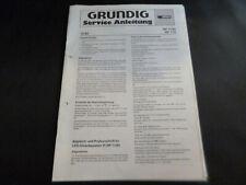 Original Service Manual Schaltplan Grundig RF 800