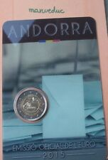 Manueduc 2 euro Andorra 2015 Commemorative most old blister unc