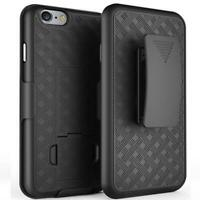 COMBO SHELL CASE W KICK-STAND SWIVEL CLIP HOLSTER COVER G6I for IPHONE 7 / 8