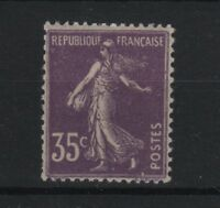 """FRANCE STAMP TIMBRE N° 136 a """" SEMEUSE 35c VIOLET 1906 """" NEUF xx TTB  R587"""