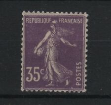 "FRANCE STAMP TIMBRE N° 136 a "" SEMEUSE 35c VIOLET 1906 "" NEUF xx TTB  R587"