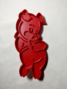 Vintage Tupperware Valentines Cookie Cutter Porky the Pig Piggy Disney WB