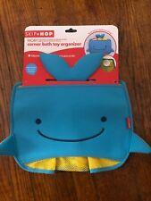 Skip Hop Moby Whale Bath Toy Corner Organizer