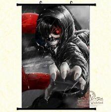 Großes Tokyo Ghoul Ken Kaneki Stoffposter Wallscroll Anime Manga Poster 60x90CM