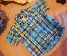 Boys Oshkosh checked  shirt-aged 2yrs-great for holidays summer weather beach