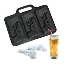 Party Drink Ice Tray Cool Pistol Gun Ice Cube Style Ice Maker Mould Tool Kitchen