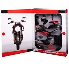 Maisto - DUCATI DIAVEL CARBON (2011) - Assembly Line Kit Model Scale 1:12