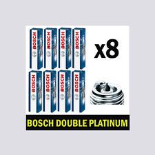8x Bosch Platinum Spark Plugs for AUDI RS4 4.2 B7 B8 BNS CFSA 8E 8K