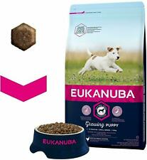 Eukanuba Small Breed Growing Puppy Dog Dry Food Rich in Chicken 3 kg Bag NEW