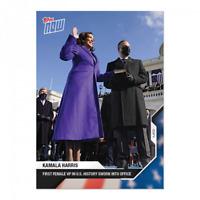 Kamala Harris - 2020 USA Election Topps NOW Card 13 2021 Inauguration Day