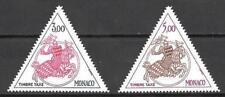 Mónaco 1983 Yvert sellos tasas n° 73 et 74 neuf 1er elección