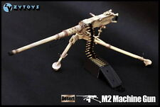 "ZYTOYS 1/6th ZY8031B Sand color M2 Machine Gun For 12"" Figure Model Scene Use"