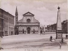 Florence Firenze Italie Italia Vintage albumine ca 1880