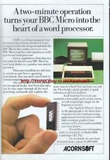 "Acornsoft VIEW BBC Micro ""Vintage Software"" 1983 Magazine Advert #5063"