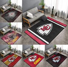 Kansas City Chiefs Area Rug Fluffy Floor Mat Living Room Bedroom Non-Ship Carpet