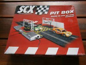 SCALEXTRIC SCX PIT BOX.