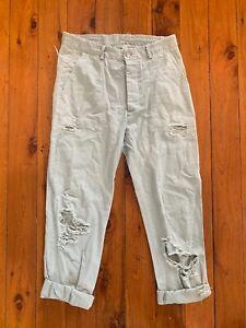 Rachel Comey Cropped Jeans Sage