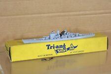 TRIANG MINIC SHIPS M741 ROYAL NAVY RN GREY HMS VANGUARD BATTLESHIP BOXED 2 nq