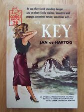 The Key - Jan de Hartog *Corgi S491, Good 1958 Paperback, WW2 Novel*