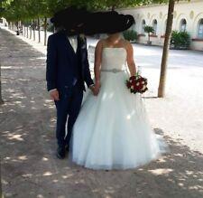 Brautkleid mit Schleppe von Victoria Jane 2018 in weiß Gr. 42 bis 46