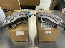 2016+ Corvette Z06 Gray Rear Brembo Carbon Ceramic GM Brake Calipers Fits Z28