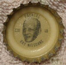 1965 Coke - Fanta - NFL Packers Bottle Cap - Ray Nitschke - Illinois alumni