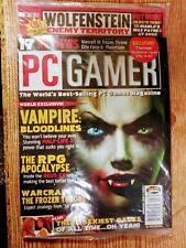 """""""PC GAMER"""" Magazine Vol. 10 Number 9 September 2003 w/ Disc. Brand New Sealed"""