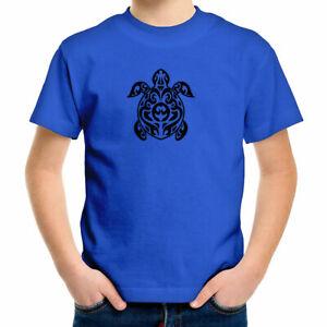 Sea Turtle Youth Kids Boys Girl Tee T-Shirt Ocean Sea Life Lover Gift Children