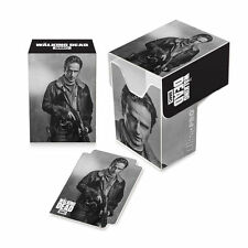 Ultra Pro Gaming Card Full View Deck Box The Walking Dead Rick Grimes w/ Divider