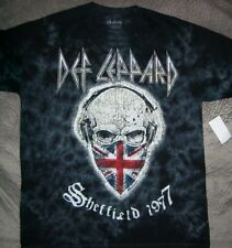 Def Leppard Tie Dye Style T Shirt_ Size Medium_ New with tags_ Official Licensed