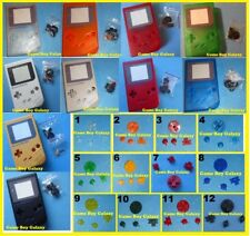 DMG SHELL & SCREEN Nintendo Game Boy CUSTOM BUTTONS replacement ~ PICK A COLOR