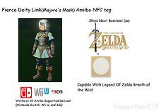Fierce Deity Link(Majora's Mask) Amiibo Breath of the wild -Not Figurine/statue