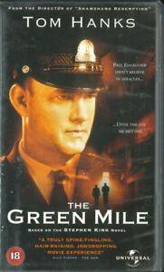 The Green Mile , Tom Hanks, Michael Clarke Duncan, Stephen King, VHS Vídeo Cinta