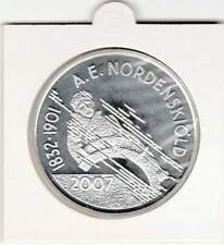 Finland 10 euro 2007 Proof zilver PP: Adolf Erik Nordenskiold