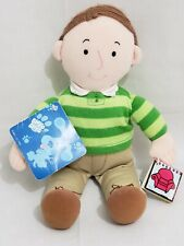 Vintage Blues Clues Steve Plush 1999 Eden Doll With Notebook Green Shirt w/ Tag
